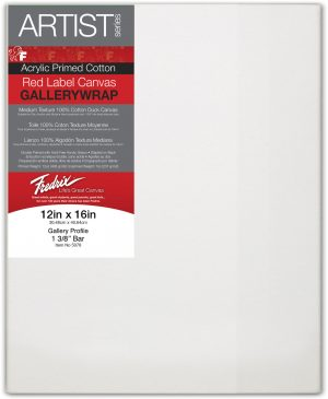 25.4X25.4CM GALLERYWRAP STRETCHED CANVAS