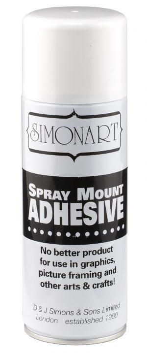 SPRAY MOUNT ADHESIVE 400 ML.