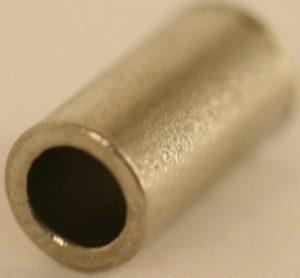2.7MM(inside diameter)Silver ferrules fits PCPW/2