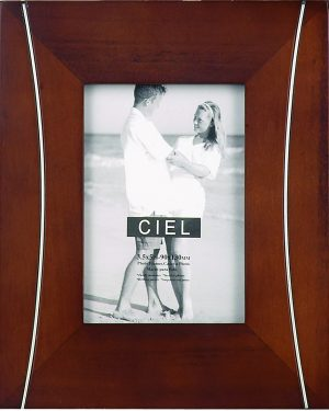 127X89MM,`MARSEILLE` GLOSS BROWN PHOTOFRAME