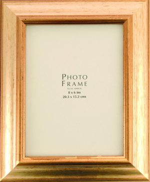 40MM REVERSE GOLD FRAME